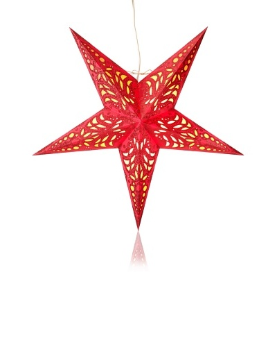 Starlightz Geeta Paper Light, Red