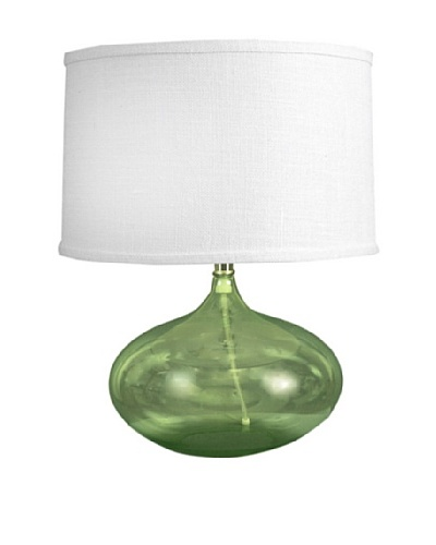 State Street Lighting Abby Table Lamp, Green