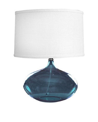 State Street Lighting Abby Table Lamp, Blue
