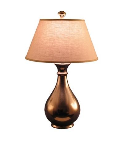 State Street Lighting Teardrop Table Lamp, Metallic Bronze