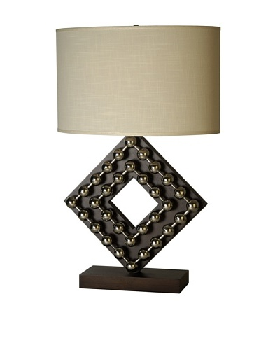 Trend Lighting Preston Table Lamp, Espresso Finish