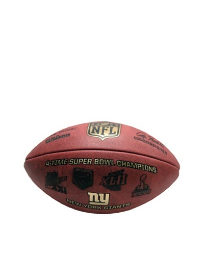 Steiner Sports Memorabilia NFL New York Giants Eli Manning, Phil Simms & OJ Anderson Signed Football