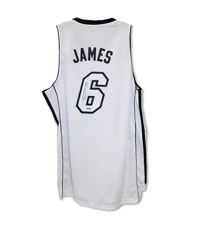 Steiner Sports Memorabilia LeBron James Miami Heat Signed Jersey