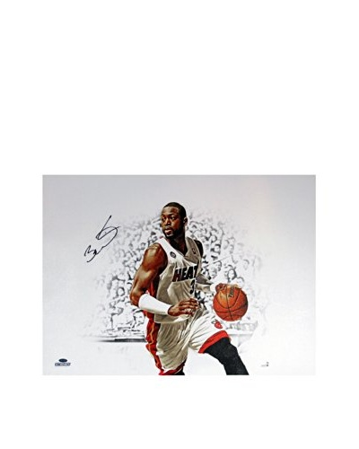 Steiner Sports Memorabilia Dwyane Wade Signed Canvas