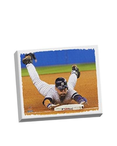 Steiner Sports Memorabilia Derek Jeter Dive Stretched Canvas