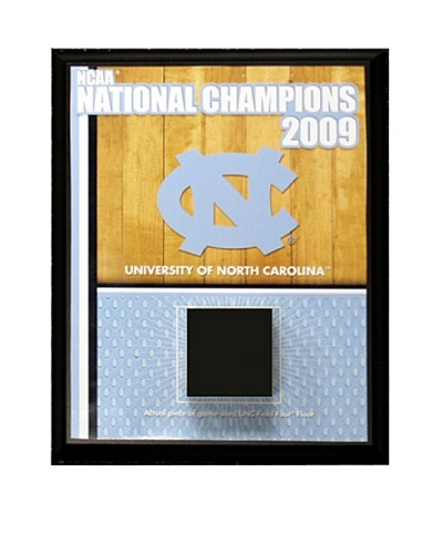 Steiner Sports Memorabilia North Carolina Championship Court Plaque (Black)
