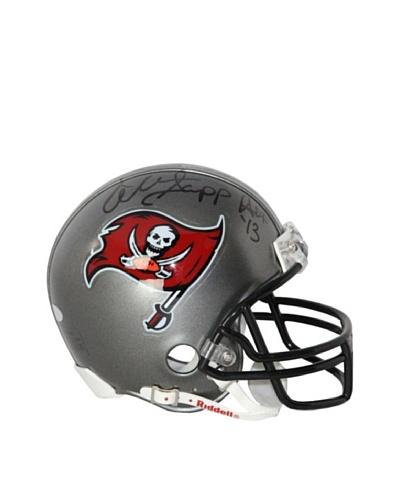 Steiner Sports Memorabilia Warren Sapp Signed Tampa Bay Buccaneers Replica Mini Helmet Inscribed HO...