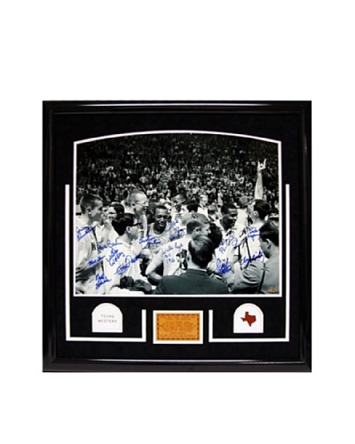 Steiner Sports Memorabilia Texas Western Celebration Signed Framed Photograph