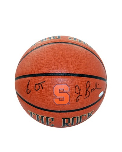 Steiner Sports Memorabilia Jim Boeheim Syracuse The Rock with 6 OT Signed Basketball
