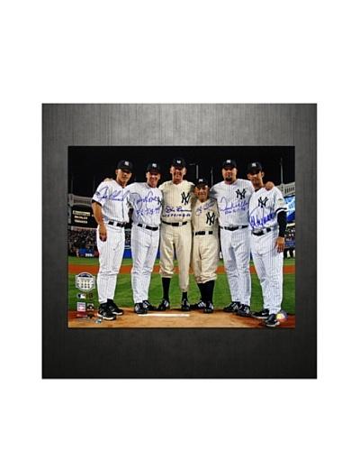 Steiner Sports Memorabilia Yankees Final Game at Yankee Stadium Perfect Game Battery Mates Photo