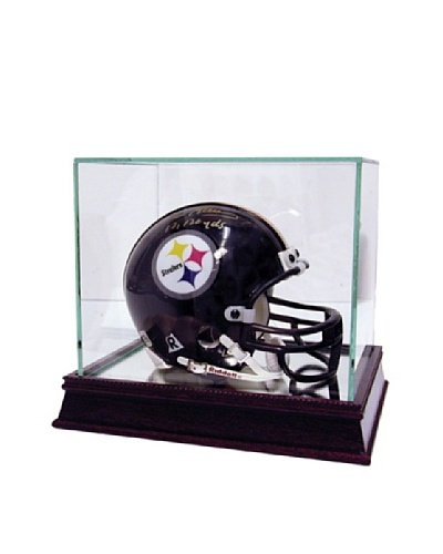Steiner Sports Memorabilia Glass Mini Helmet Case