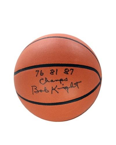 Steiner Sports Memorabilia Bob Knight Signed 76 81 87 Champs NCAA Basketball