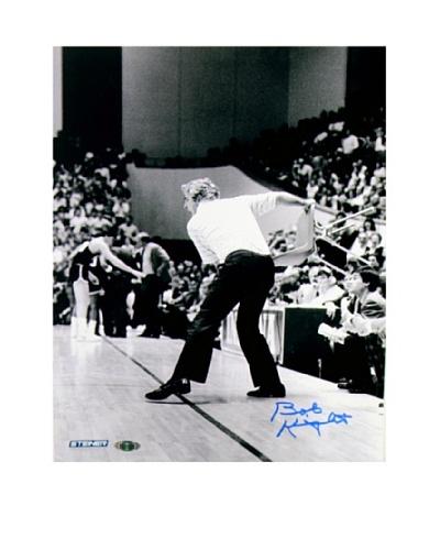 Steiner Sports Memorabilia Bob Knight Throwing Chair Signed Photo