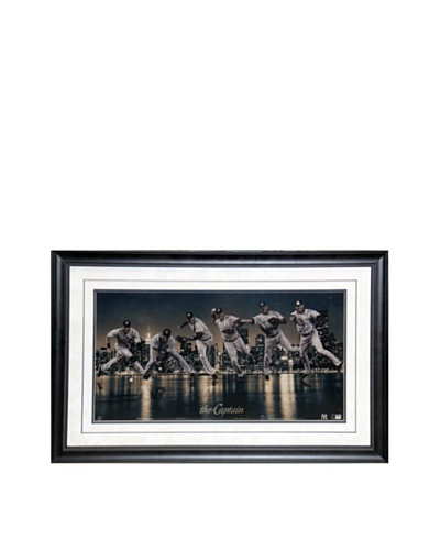 Steiner Sports Memorabilia Derek Jeter 'The Captain' Framed Collage