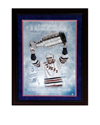 Steiner Sports Memorabilia Mark Messier 'Captain Courageous' Framed Photo Collage
