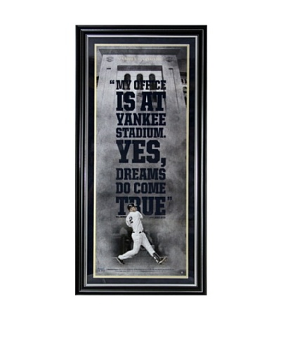 Steiner Sports Memorabilia Derek Jeter 'Yankee Stadium is My Office' Framed Collage