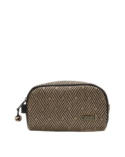 Stephanie Johnson Hamptons Night Marlo Mini Make-Up Case, Black