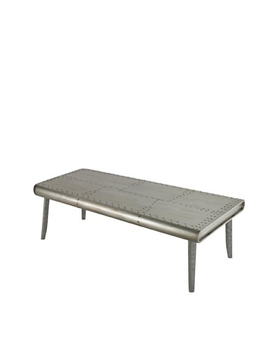 Sterling Sherborn Coffee Table, Aluminum