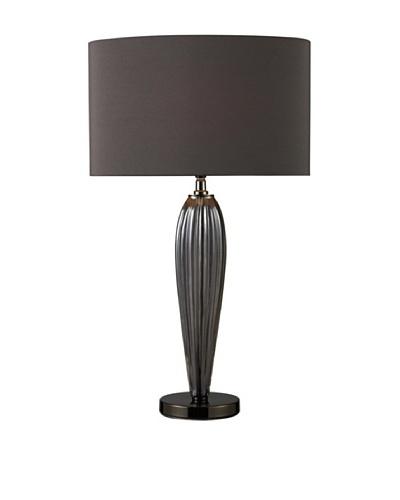 Sterling Carmichael Table Lamp, Smoke/Black