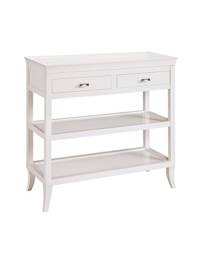 Sterling Tamara Hall Table, White