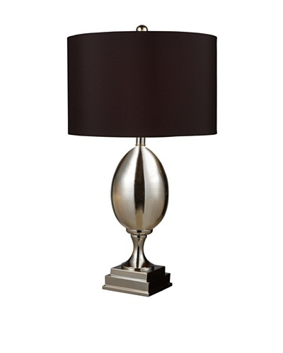 Sterling Waverly Table Lamp, Chrome/Black