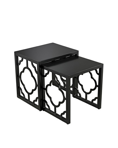 Sterling Home High Gloss Nesting Tables, BlackAs You See