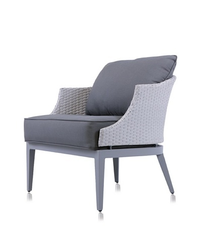 Steve & James Dorothy Lounge Chair, Light/Dark Grey
