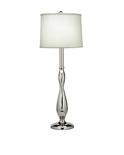 Stiffel Lighting Polished Nickel Modern Buffet Lamp
