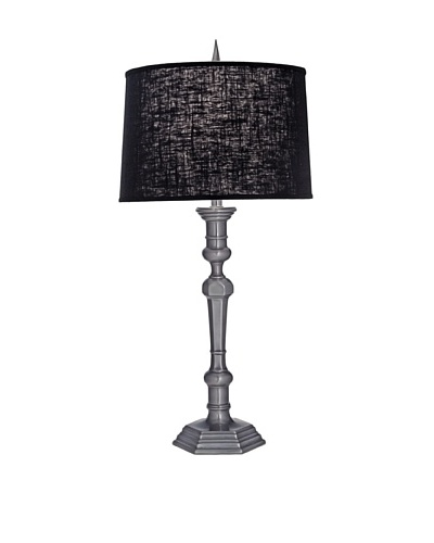 Stiffel Lighting Gun Metal Molded Table Lamp