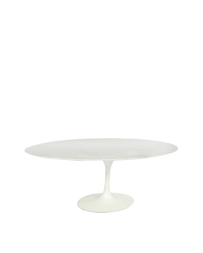 Stilnovo Marble Tulip Dining Table, White