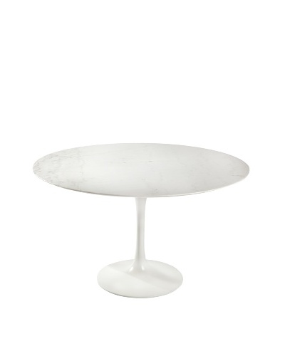Stilnovo Marble Tulip Dining Table, White
