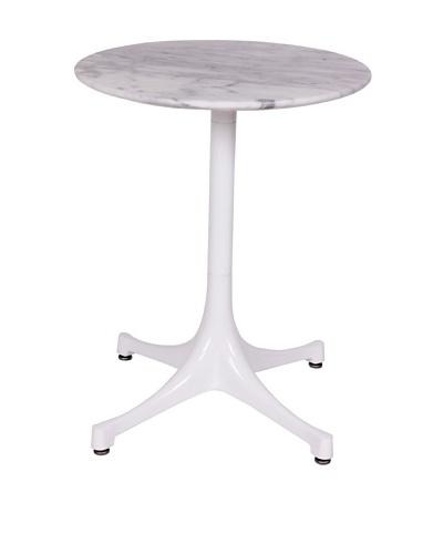 Stilnovo Swag Marble Table, White