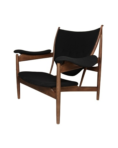 Stilnovo The Sterling Lounge Chair, Black
