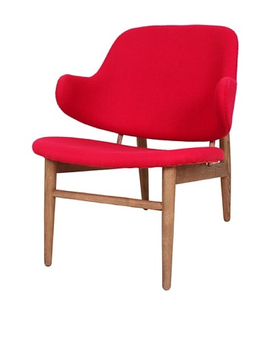 Stilnovo The Cosgrove Lounge Chair, Red