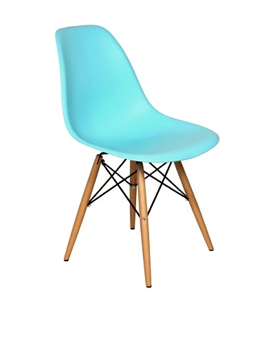 Stilnovo Mid-Century Eiffel Dining Chair, Blue