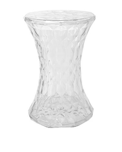 Stilnovo Crystal Stool, Clear