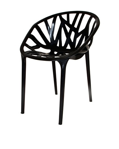 Stilnovo Tree Of Life Chair, Shiny Black