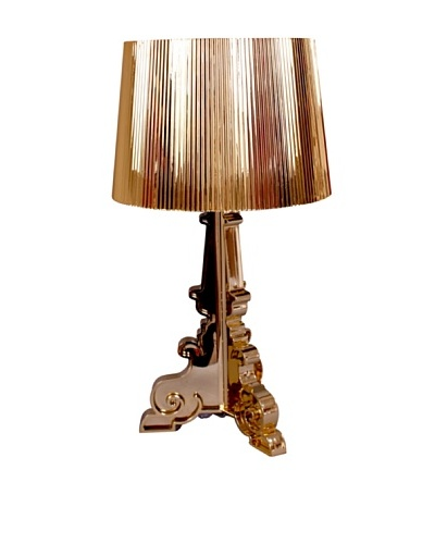 Stilnovo Gold Plated Baroque Table Lamp, Gold