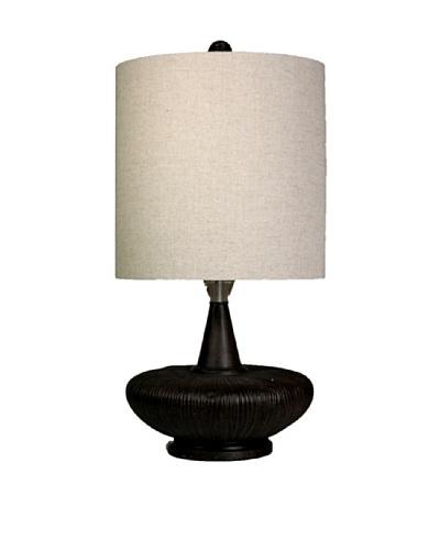 StyleCraft Poly/Acrylic Table Lamp, Ember Bronze