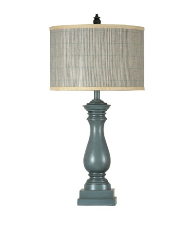StyleCraft Poly Table Lamp, Chambray