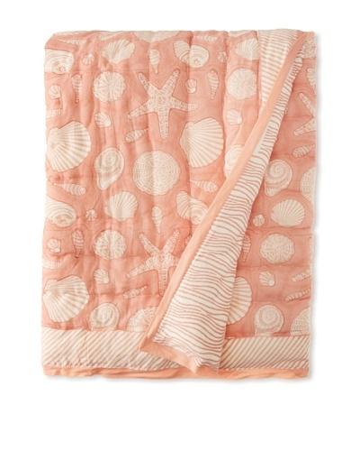 Suchiras Coral Throw, Coral, 45 x 60