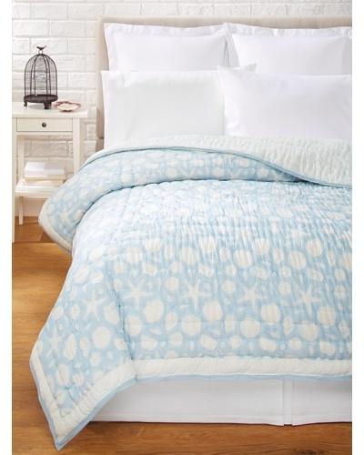 Suchiras Sea Quilt, Light Blue, Twin