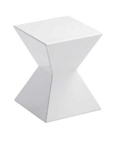 Sunpan Rocco End Table, White