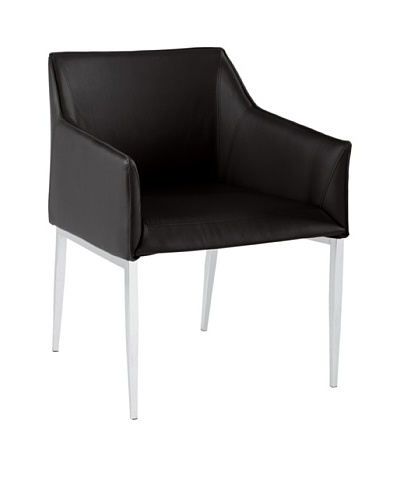 Sunpan Waldorf Armchair, Black