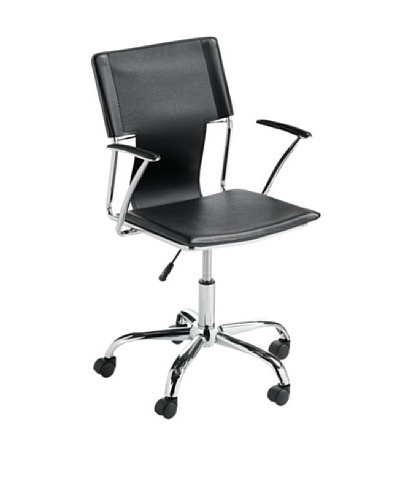 Sunpan Diplomat Office Chair, Black