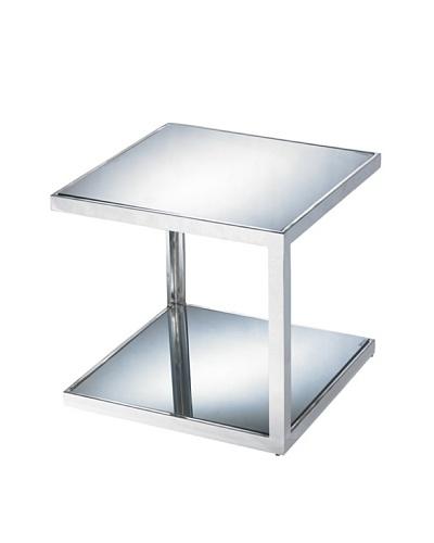 Sunpan Nolan Mirrored Side Table