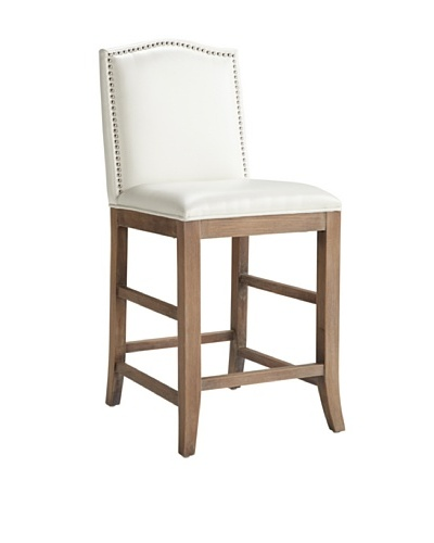 Sunpan Maison Counter Stool, Ivory