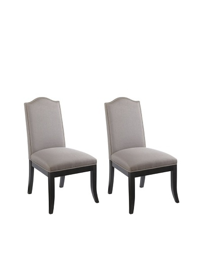 Sunpan Set of 2 Roderigo Chairs, Linen