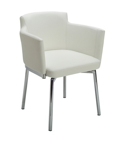 Sunpan Garcia Swivel Chair, WhiteAs You See