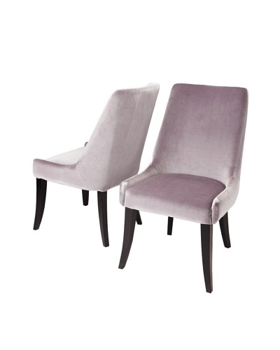 Sunpan Set of 2 San Diego Chairs, Silver